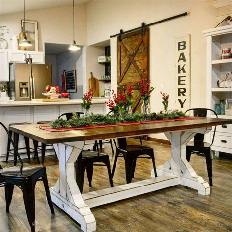 31659 two tone dining table adorable best 25 farmhouse table ideas on farm style