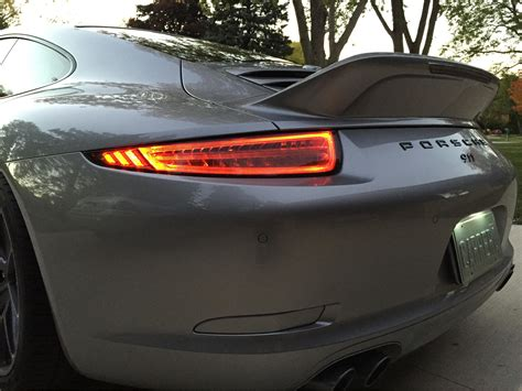 Tinted Gt3 Rs Tail Lights On My Carrera S