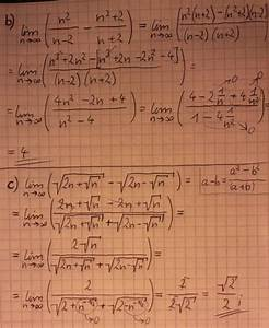 Grenzwerte Berechnen Online : bestimmen sie die folgenden grenzwerte und kommentieren sie die dazu verwendeten grenzwertregeln ~ Themetempest.com Abrechnung