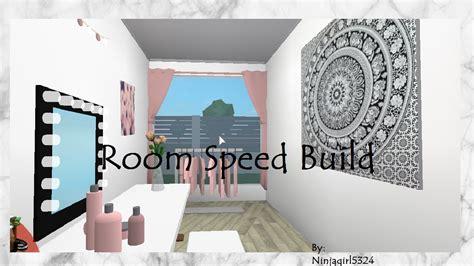 Welcome To Bloxburg Bedroom Speed Build