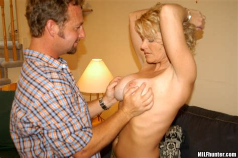 sexy blonde milf with tan lines getting some hunter cock pichunter