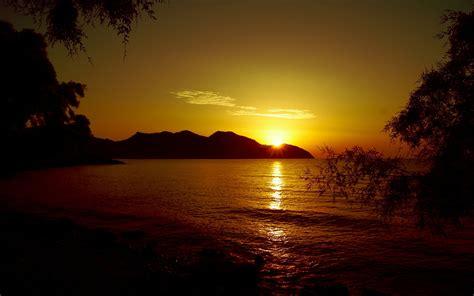 cala bona sunset nature hd desktop wallpapers  hd