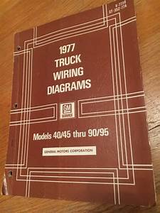 1977 Gm General Motors Trucks Wiring Diagrams Manual