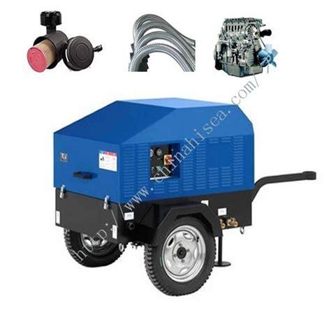 Bar Small Screw Portable Diesel Driven Air Compressor