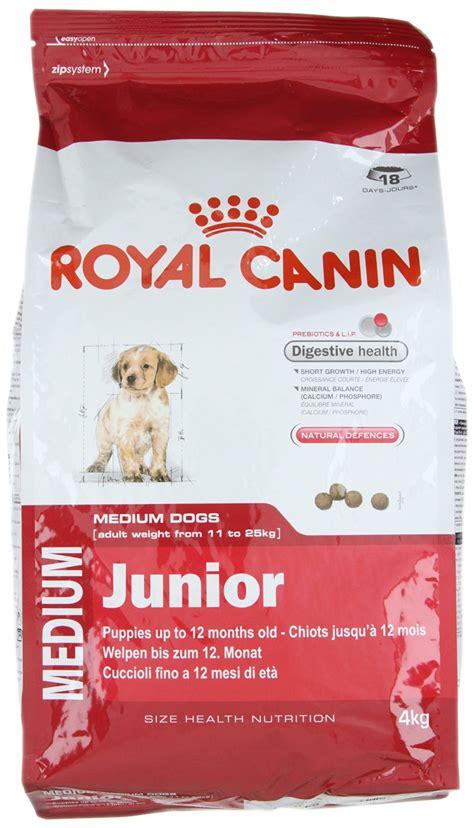 royal camini royal canin medium junior food 4 kg nappets