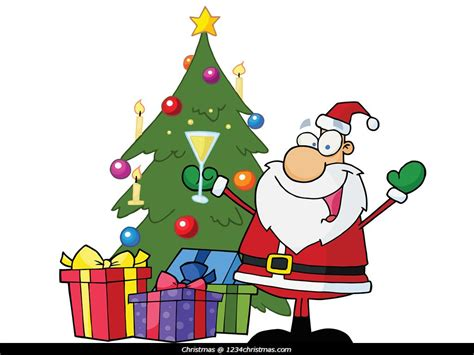 Christmas Tree Decorating Party Clipart