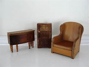 vintage wooden doll house furniture vintage doll house chair With pictures of house wooden furnitures