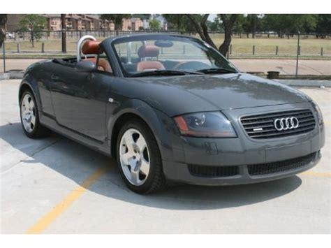 2001 Audi Tt Specs 2001 audi tt 1 8t quattro roadster data info and specs