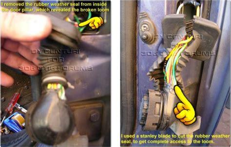 peugeot 306 door loom wiring diagram somurich