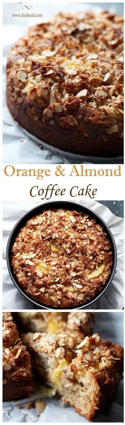 Fold in the flour, baking powder, almonds, and the coffee. Tender, rich, citrusy and sweet Orange coffee cake topped ...