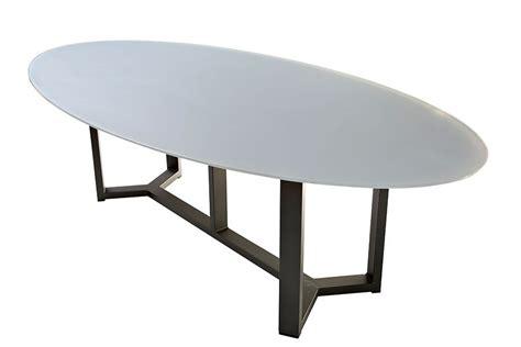Table Jardin Plateau Verre by Table De Jardin Ovale Design En Aluminium Plateau En
