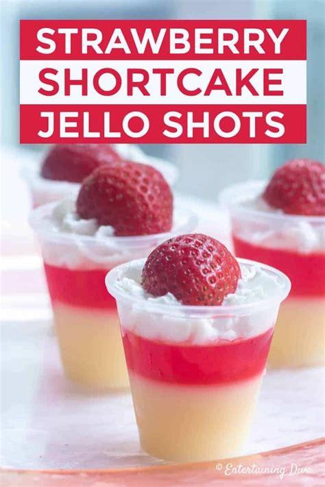 love  strawberry shortcake jello shots