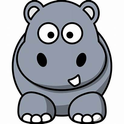 Hippo Clip Svg Clipart Px