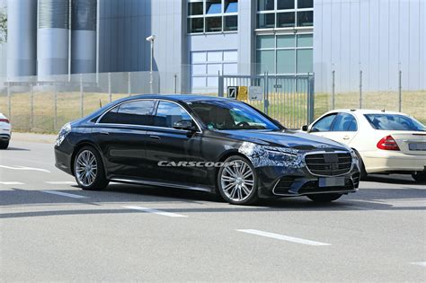 Obviously, the government's estimates will vary between the two different powertrains, and we expect the larger of the engines to. Barely Disguised 2021 Mercedes S-Class Looks Stately In ...