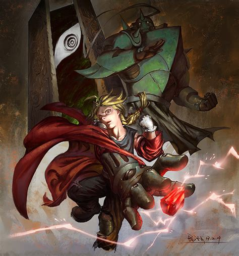 Anime Fullmetal Alchemist Art
