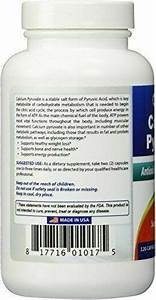 Best Naturals Calcium Pyruvate 750 Mg Capsule 120 Count For Sale Online