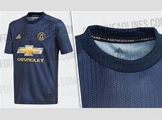 Man Utd third kit leaked – Blue 201819 strip made of