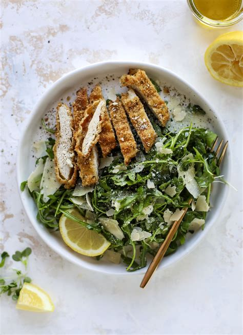 Pasta with sausage, arugula, and bread crumbsreal simple. Baked Parmesan Chicken with Lemon Arugula - Crispy Baked Chicken