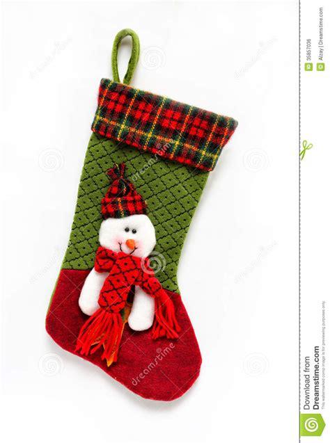 christmas sock royalty  stock image image