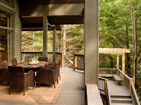 rear deck pictures  blog cabin  diy network blog