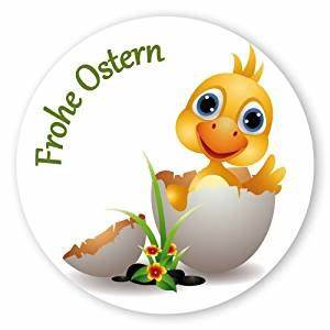 Frohe Ostern Lustig : oster aufkleber ostern sticker rund 30mm selbstklebende pe folie 100 st ck auf rolle frohe ~ Frokenaadalensverden.com Haus und Dekorationen