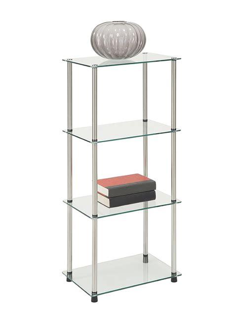 Glass Bookcase Shelves by Glass Based Bookshelves
