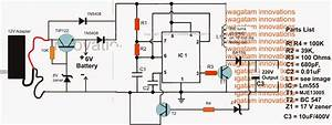 6v To 220v Inverter Circuit Diagram