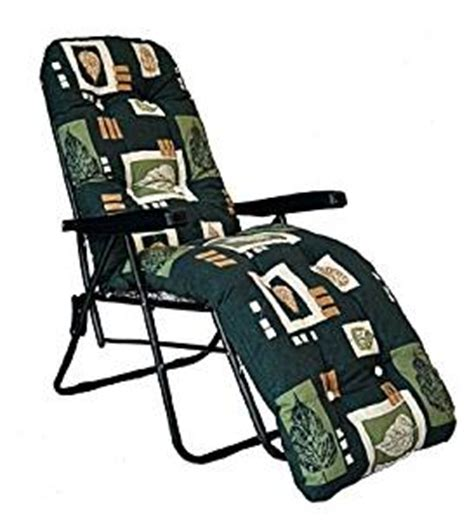 Amazonca Patio Chair Cushions by Garden Sun Lounger Multi Position Reclining Relaxer Chair