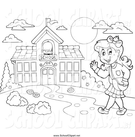 going to school clipart black and white go to school clipart black and white clipartxtras