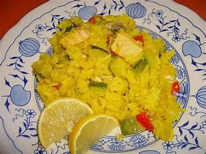 Lachs Mit Gemüse : gem se paella mit lachs rezept mit bild von knobichili ~ Orissabook.com Haus und Dekorationen