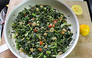 The Caribs | Jamaican Callaloo With Shrimp.