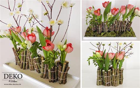Diy Ausgefallene Blumendeko Mit Holz Dekokitchen