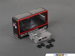 Mini Cooper Puddle Lights 63312414106 Genuine Mini Led Projector Puddle Lights Kit