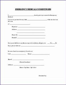 Printable medical release form for children oloschurchtpcom for Consent form template for children