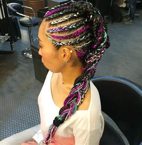 ultra modern braided mohawks   season