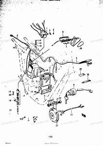 Suzuki Motorcycle 1972 Oem Parts Diagram For Electrical