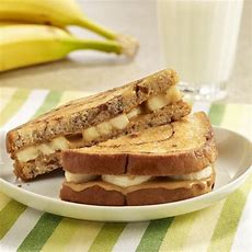 Grilled Peanut Butter And Banana Sandwiches  Ready Set Eat