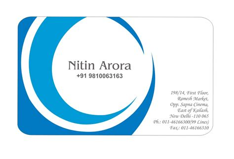 interior design for my home monika batra visiting card 4