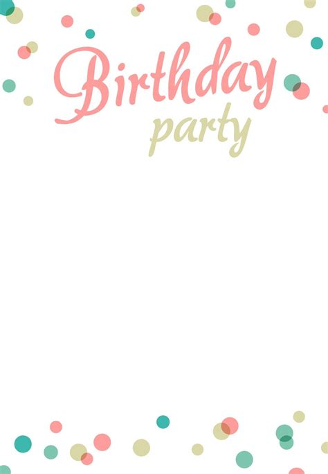 birthday party invitation  printable addisons st