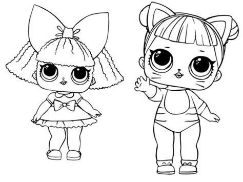 Dibujos de munecas lol para colorear imprime gratis toda la serie. Dibujos de LOL Surprise doll para colorear | Colorear imágenes