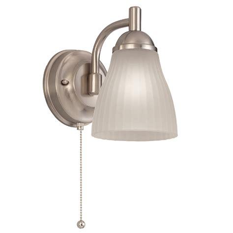 shop portfolio brushed nickel bathroom vanity light at