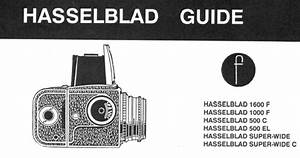 Hasselbald Guide Instruction Manual  User Manual  Free Pfd
