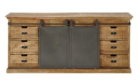 solid mango wood sideboard  cm germain maisons du monde