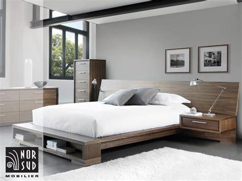chambre a coucher mobilier de mobilier nor sud mobilier de chambre à coucher contemporain