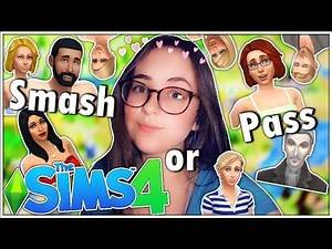 SMASH OR PASS CHALLENGE: The Sims 4 Townie Edition