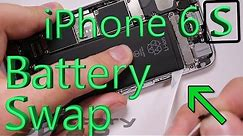 iPhone 6S Battery Replacement in 3 minutes (Easy Method)