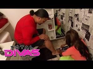 Naomi tells Jimmy Uso to go to the doctor: Total Divas, Nov. 17, 2013