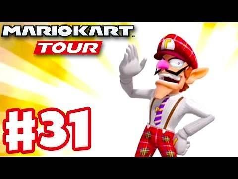 Bus Driver Waluigi! London Tour Ranked! - Mario Kart Tour - Gameplay Part 31 (iOS)