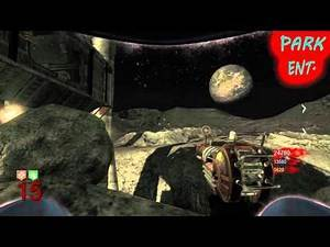"""Black Ops Zombies """"Moon"""" Easter Egg *VOICE* Tutorial - Big Bang Theory Achievement"""