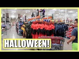 IT'S HALLOWEEN AT COSTCO! - August 4, 2018
